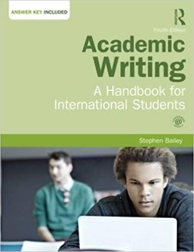 stephen bailey academic writing a handbook for international students third edition pdf