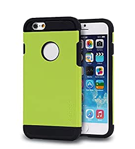 iphone 6 (4.7inch) Case, Tough Armor Case for iphone 6 (4.7inch) - Retail Packaging - £¨Grass green£
