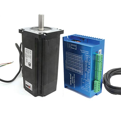 Nema34 - 1 servo motor de bucle cerrado de 12 N.m + 1 controlador de servo HSS86: Amazon.es: Industria, empresas y ciencia