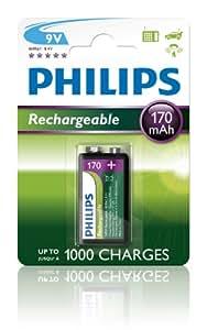 Philips Multi Life - Pila NiMH (9 V, 170 mAh)