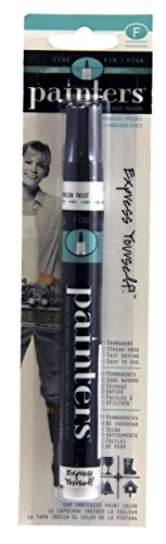 Elmer's Painters Opaque Paint Marker, Fine Point, Black, 1 (Halloween Window Painting Ideas)