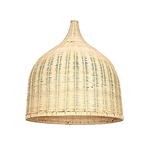 zZZ Hand-Woven Vine Lamp Rattan Straw Hat Bamboo Vine Living Room Dining Room Bedroom Lamp Study Personality Porch Corridor Chandelier Warm
