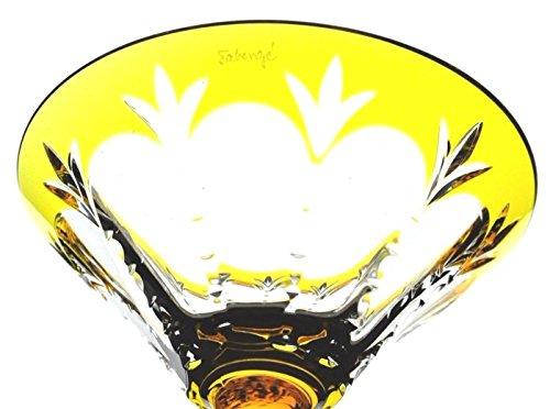 Amazon.com | Faberge Grand Palais Yellow Crystal Martini ...