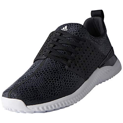 (adidas Men's Adicross Bounce Golf Shoe, Black/White, 10.5 M US)