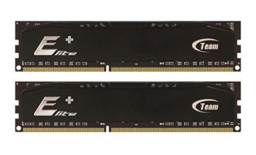 667mhz Dual Channel Kit Memory - 4GB Team Elite Plus Black DDR2 PC2-5300 667MHz (5-5-5-15) Dual Channel kit