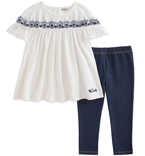 Lucky Brand Toddler Girls' Pants Set, Oatmeal, 3T from Lucky Brand