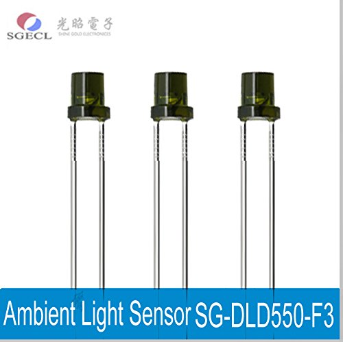 Infrared Filter Ambient Light Sensor Photosensitive Transistor SG-DLD550-F3 Silicon Phototransistors