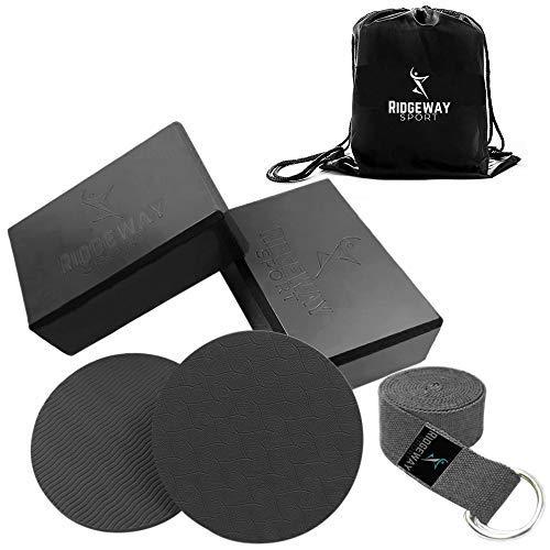 Ridgeway Sport Yoga Starter Set (6 Piece) (Black)