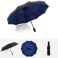 KBWL Automatic Oversized Reinforcement Umbrella Men And Women Umbrella Umbrella Windproof Business Umbrella Umbrella 1 Navy