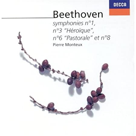 Beethoven:Symphonies 1/3/6/8
