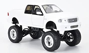 Ford F 150 High Profile Monstertruck Weiss Modellauto Fertigmodell Jada 1 24 Spielzeug