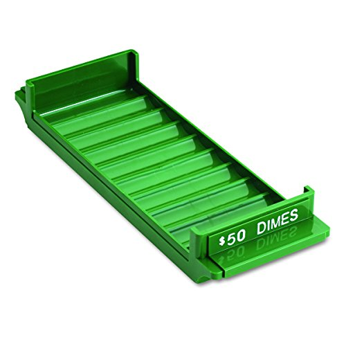 MMF Industries 212081002 Porta-Count System Rolled Coin Plastic Storage Tray, (Porta Count System Rolled Coin)