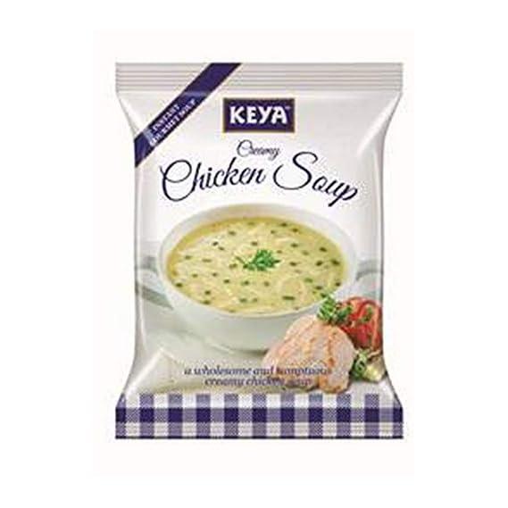 Keya Inst. Soup Creamy Chicken, 48g (Four Serve)