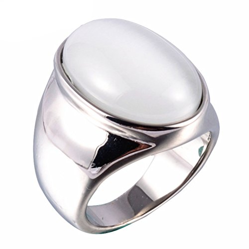 Cat Eye Gemstone Stainless Steel Oval Jewelry