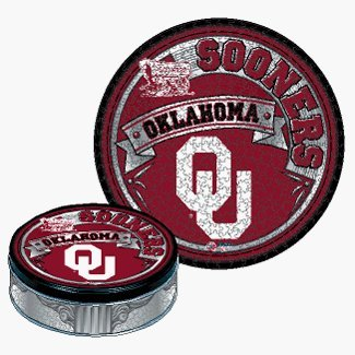 Oklahoma Sooners 500 Piece Puzzle With Tin *SALE*
