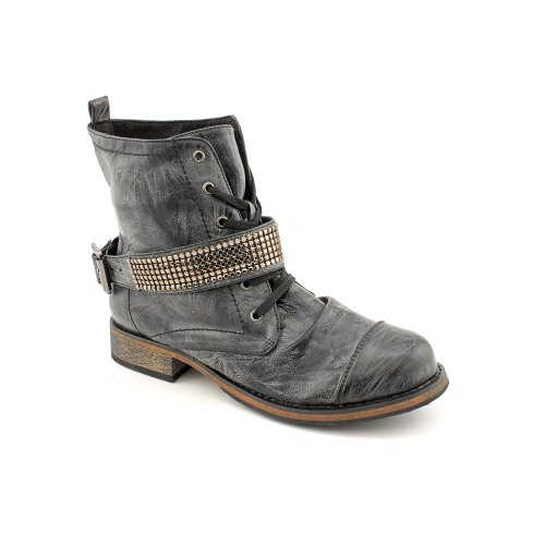 Black Girl Fashion Buckle Ankle Material Dorado Boots 7 US Womens nU0OwO1Wq