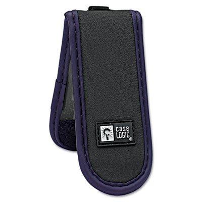 Case Logicamp;reg; - USB Drive Shuttle, Holds 2 USB Drives, Black - Sold As 1 Each - Durable neoprene exterior. (Shuttle Case Clip)