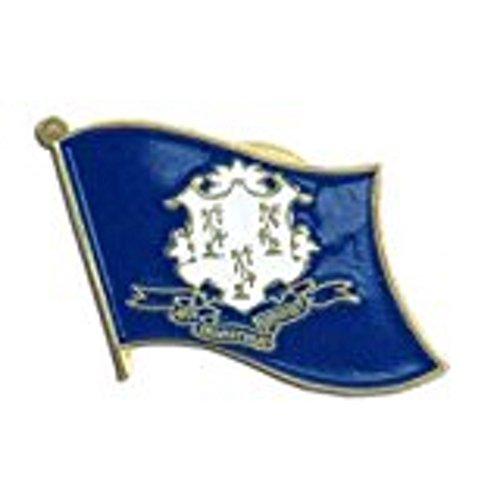 US Flag Store Connecticut Flag Lapel Pin
