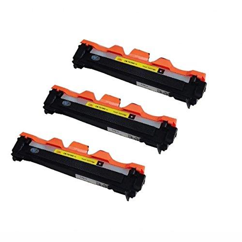 3 Toners Tn1060 Compatível 100% novo Brother Impressoras Dcp1602 Dcp1512 Dcp1617 Hl1112 1202