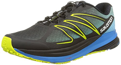 Salomon Sense Propulse Herren Low-Top Blau (Black/Methyl Blue/Gecko Green)