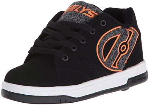 HEELYS Propel 2.0 770255 - Zapatos una rueda para niños negro, gris y naranja