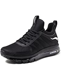 Mens Running Shoes Air Cushion Breathable Lightweight Gym Sport Shoes