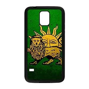 grunge safavid flag Samsung Galaxy S5 Cell Phone Case Black Customized Items zhz9ke_7300588