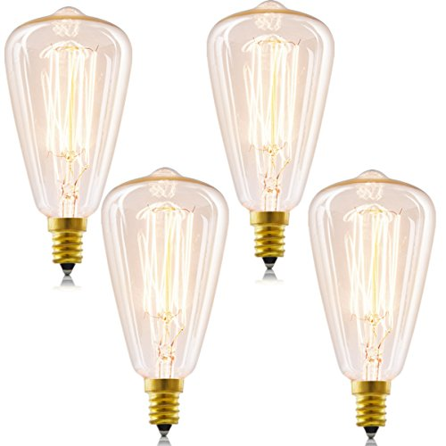 Led Teardrop Filament 40w Equivalent Light Bulb: Compare Price To Antique Candelabra Bulbs