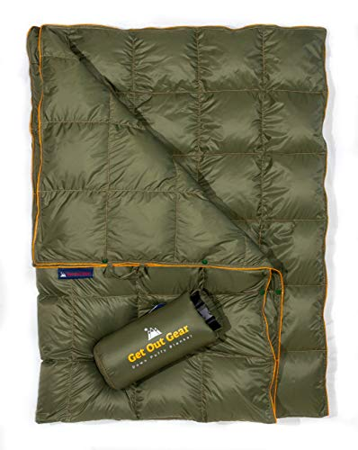 Get Out Gear Down Camping Blanket