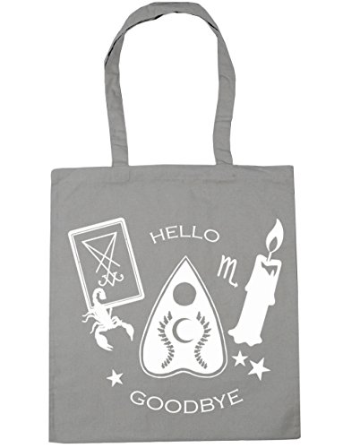 Light starter Bag x38cm kit Board Ouija Shopping Tote Beach 10 Gym litres Grey HippoWarehous 42cm wn1ZOqpExq