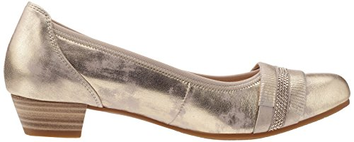 Gabor Shoes Comfort, Bailarinas para Mujer Plateado (platino 63)