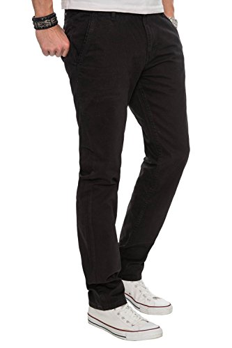 Chino Design Da Nero Uomo As016 Regular A Salvarini Pantaloni Fit Pn1OxnZXq