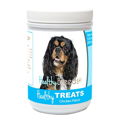 - Healthy Soft Chewy Dog Treats for Cavalier King Charles Spaniel - Over 80 Breeds - Tasty Flavored Snack - Small Medium or Large Pets - Training Reward - 7oz