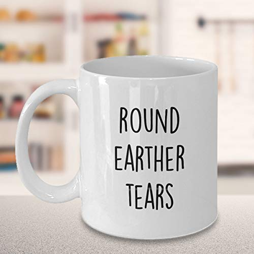 Flat Earth Society Mug Coffee Mug Gifts Flat Earther's Eyes Modern Societies Birthday Gifts Earth is Flat Personalised Custom Cup Earth Day