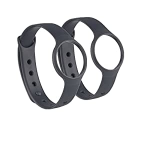 Weinisite Replacement Bands Wristband with Clasps for Misfit Flash (2 pcs)