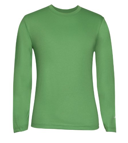 (Terramar Men's Drirelease Long Sleeve Crew T-Shirt (Medium,)