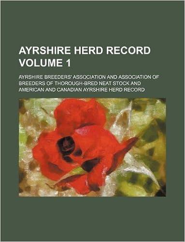 Ayrshire herd record Volume 1
