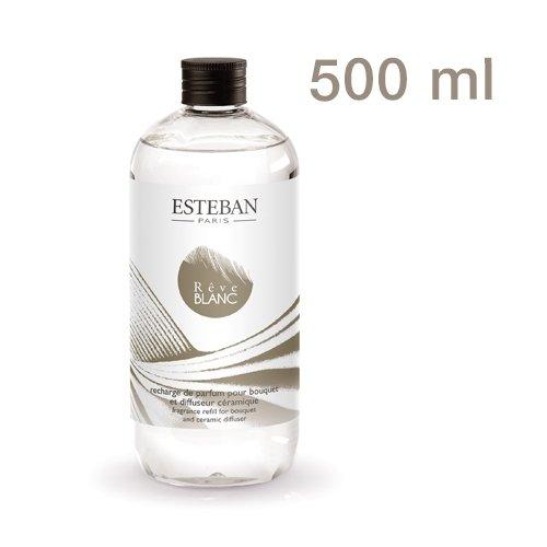 ESTEBAN - Recharge pour Bouquet parfumé Rêve Blanc 500ml