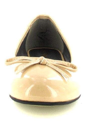 Andres Beige Beige Machado Ballet Women's Flats aqapwf8