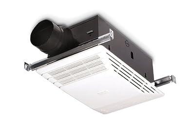 Broan Heater, 70 CFM 4.0-Sones 1300-Watt, White Plastic Grille
