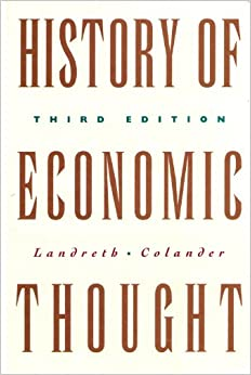 Book The History of Economic Thought