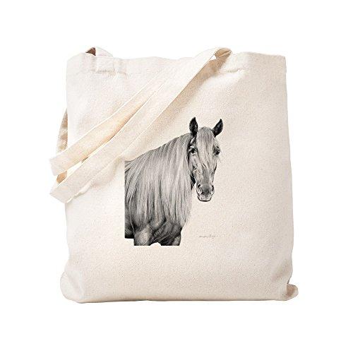 CafePress Rocky Mountain Horse 1 Natural Canvas Tote Bag, Cloth Shopping Bag