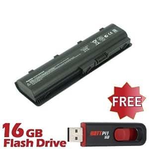 Battpit Bateria de repuesto para portátiles HP Pavilion g6-2253CA (4400 mah) Con memoria USB de 16GB GRATUITA
