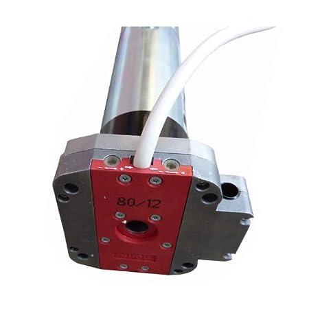 Simu Rolladenmotor Rolltormotor T5-30//17 DMI 30Nm SW60 76KG Nothandkurbel f/ür Rollladen Jalousie und Rolltor