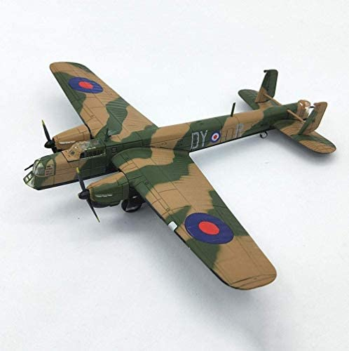 1/144 Scale Fighter plastic model, Militaire Whitney Mk.V Bommenwerper Adult Collectibles en geschenken, 7.1Inch X 6.1Inch XIUYU