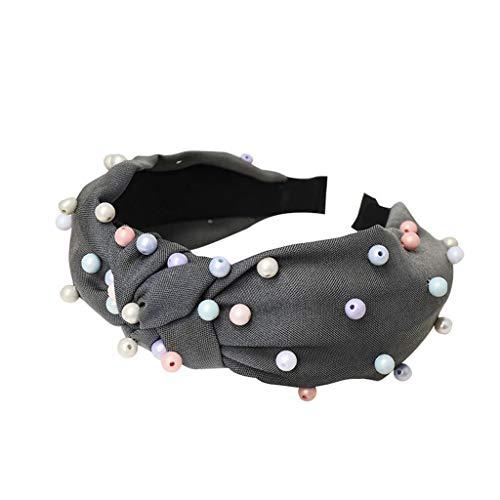 Outdoor Magic Headband Elastic Sport Headwear,LYN Star☪ Women Headband Boho Floal Style Criss Cross Head Wrap Hair Band