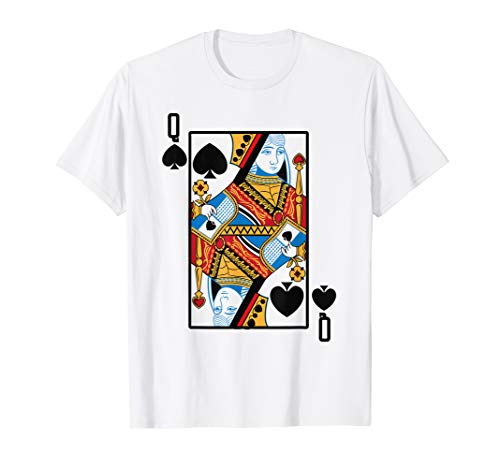 Halloween Costume Playing Card (Halloween Playing Card Costume QUEEN of SPADES)