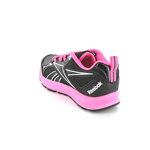 Reebok Rbk Almotio Rs Brights - Zapatos de primeros pasos Bebé-Niñas NEGRO/ROSA