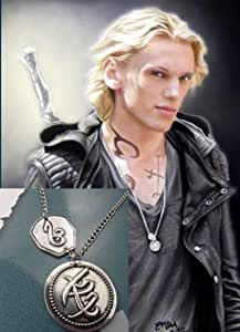Mortal Instrument Courage in Combat Rune Jack Pendant Necklace