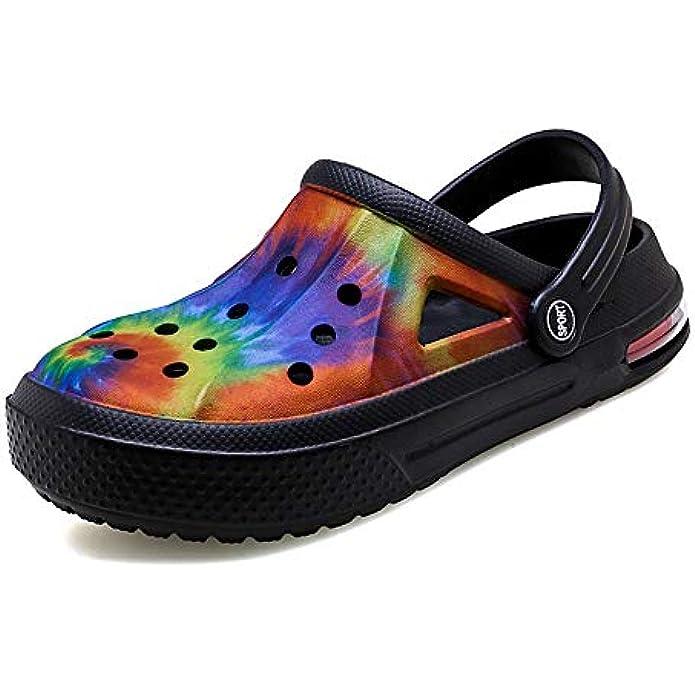 Amyneo Unisex Garden Clogs Lightweight Slip On Women Men Beach Sandals Water Shoes